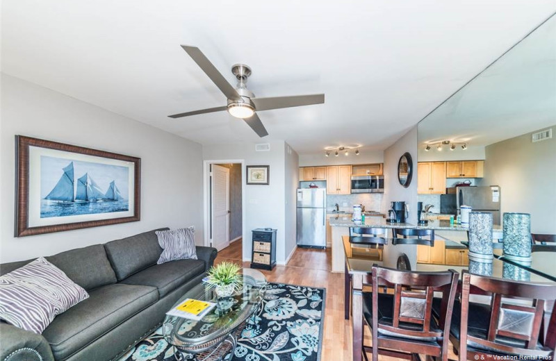 Rental interior at Vacation Rental Pros - Hilton Head Island.