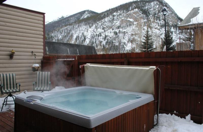 Hot tub at Hotel Frisco.