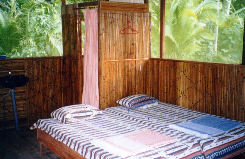 Guest room at Loving Light Amazon Lodge.