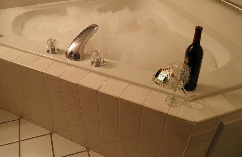 Relax with a bubble bath at Brunswick Plantation Resort.