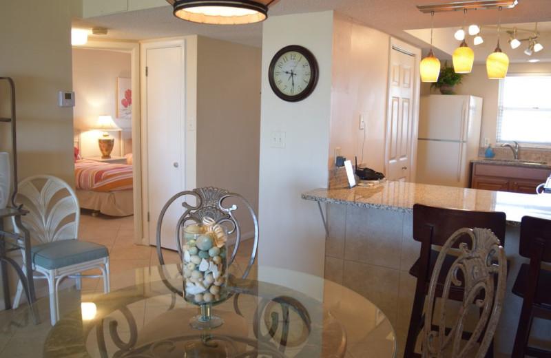 Rental dining room at Alicia J. Hollis, Realtor.