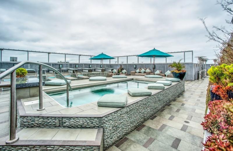 Outdoor pool at Shade Hotel.