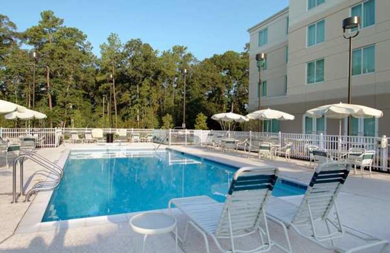 Outdoor Pool at the Hilton Garden Inn Houston Northwest
