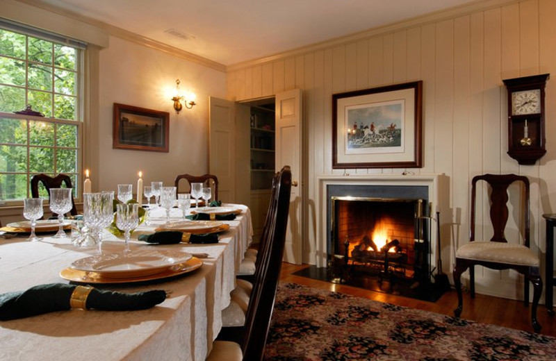 Breakfast Room at Foxfield Inn