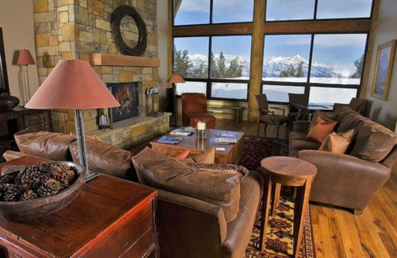 Living Room at Spring Creek Ranch