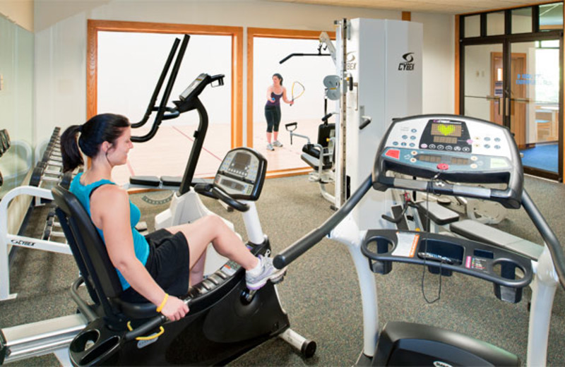 Fitness room at Summit Resort.