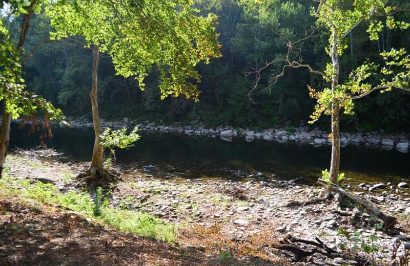River at Greenbrier River Retreat.