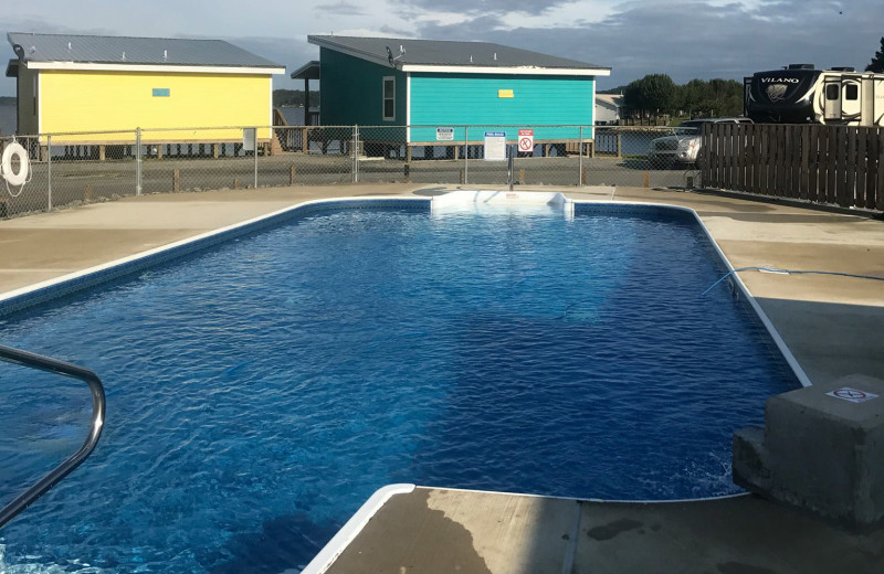 Outdoor pool at D'Arbonne Pointe.