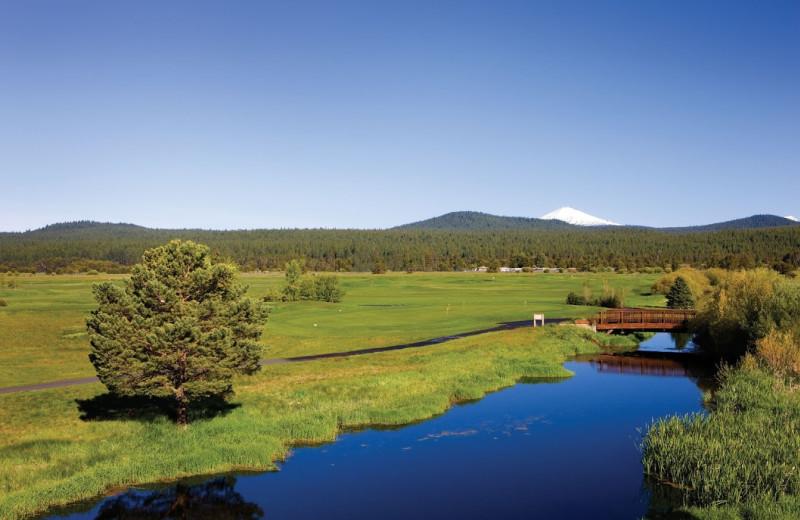 Golf course at Sunriver Resort.