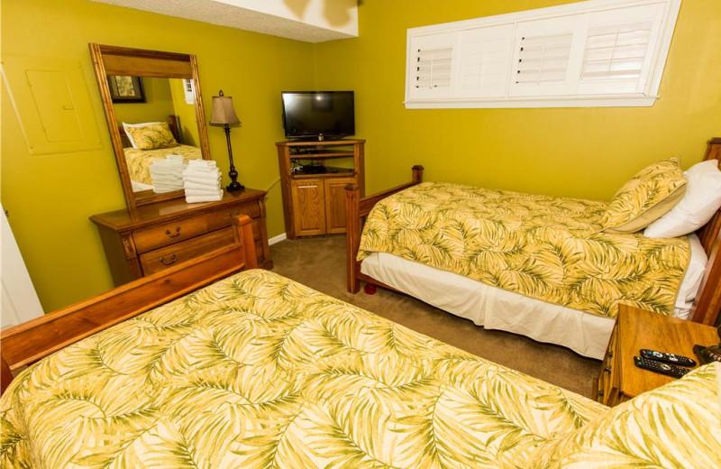 Bedroom at Holiday Isle Properties - Islander 212.
