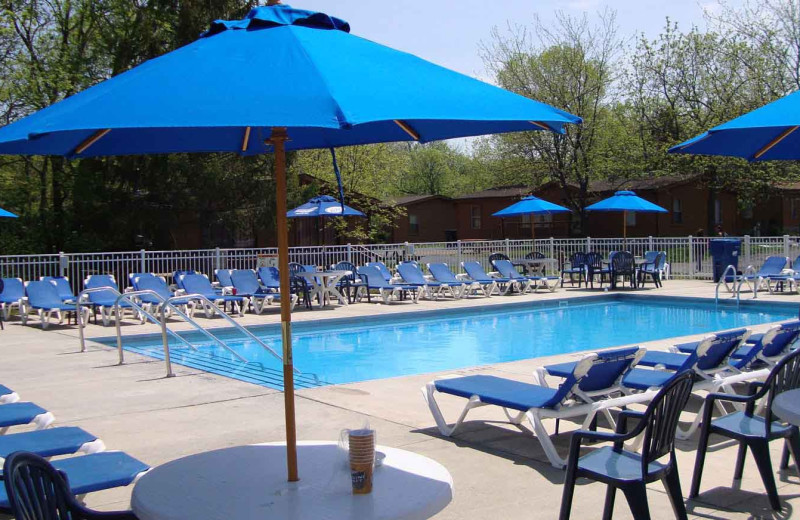 Rental pool at Island Club Rentals.