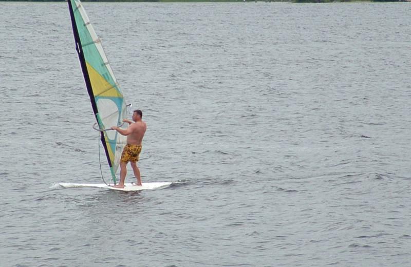 Sailing at Grant's Camps.