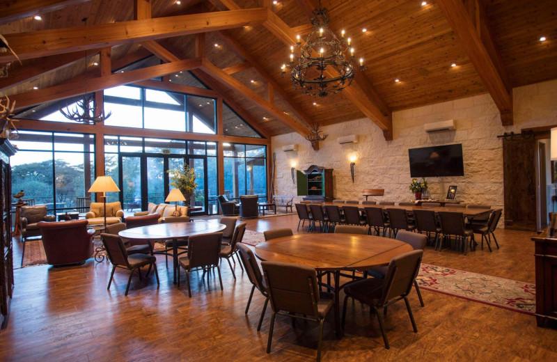 Meetings at Joshua Creek Ranch.