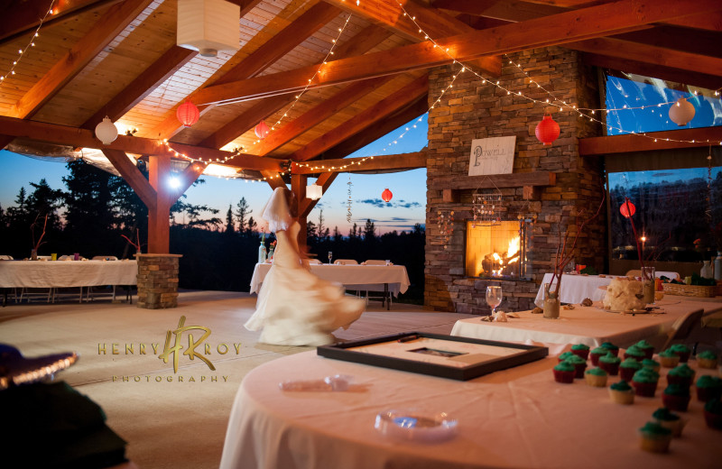 Weddings at Terry Peak Chalets.