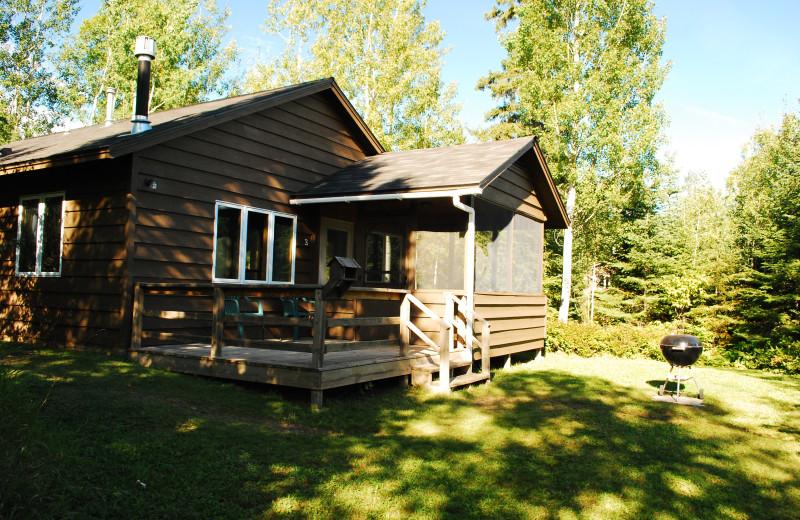 Cabin exterior at Golden Eagle Lodge