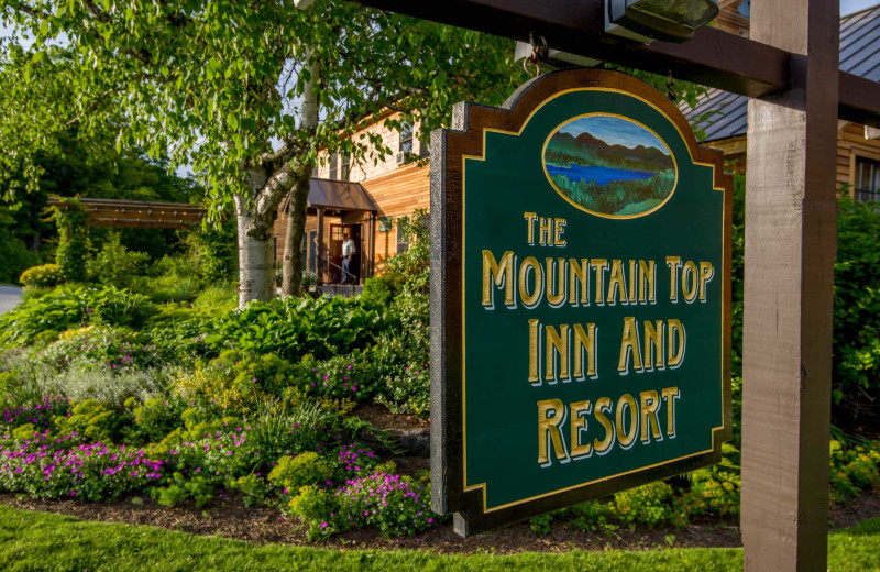 Welcome to The Mountain Top Inn & Resort.