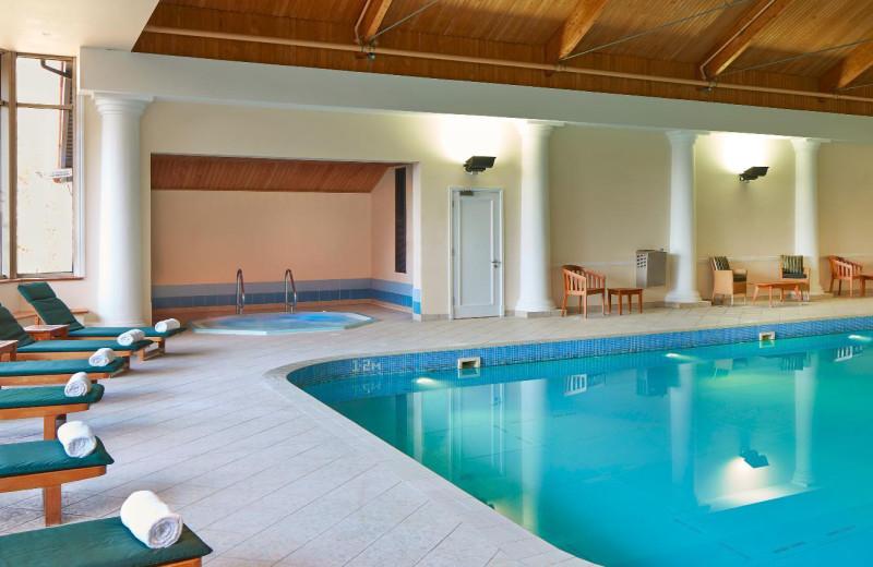 Indoor pool at Huntingdon Marriot Hotel.
