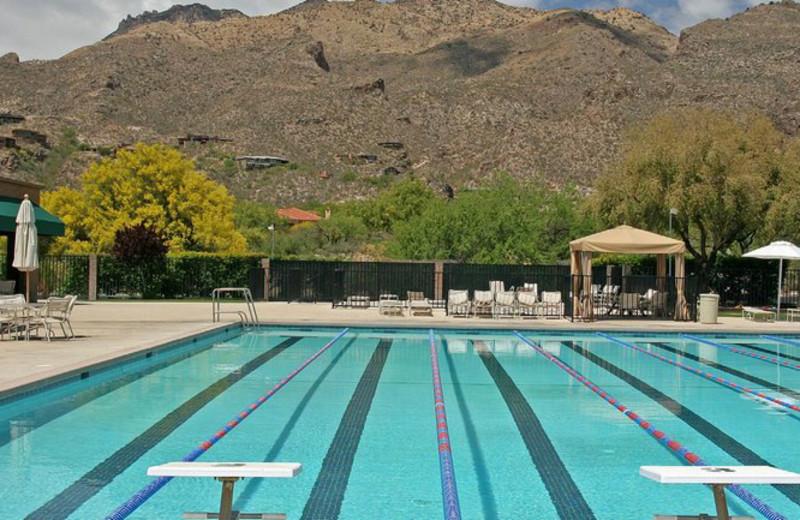 Outdoor pool at The Lodge at Ventana Canyon.