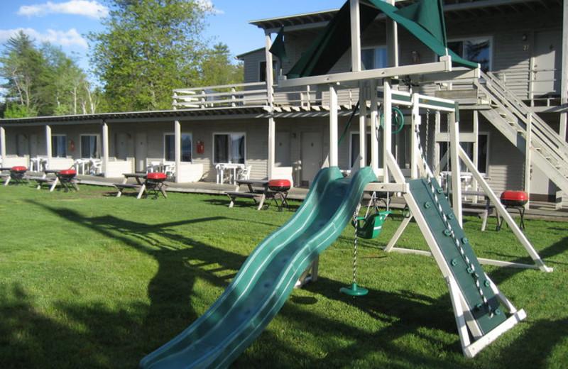 Children's playground at Golden Sands Resort.