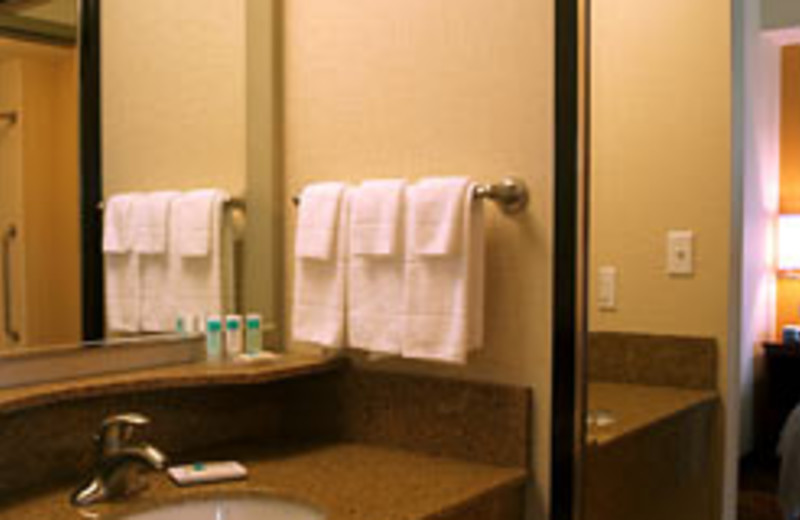 Bathroom at SpringHill Suites - Pigeon Forge