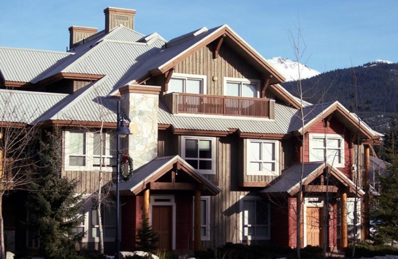 Rental exterior at Whistler Premier Resort.