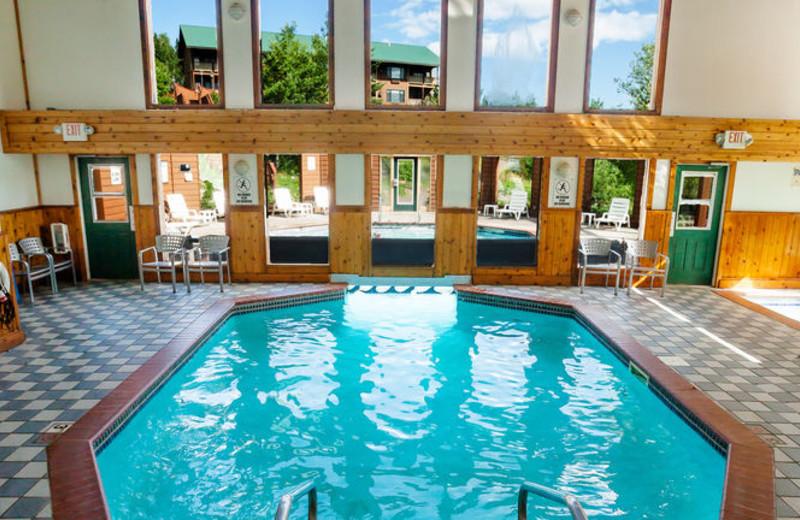Indoor pool at Eagle Ridge at Lutsen Mountains.