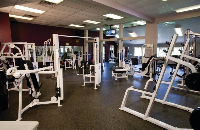 Fitness center at Wyndham Pagosa.
