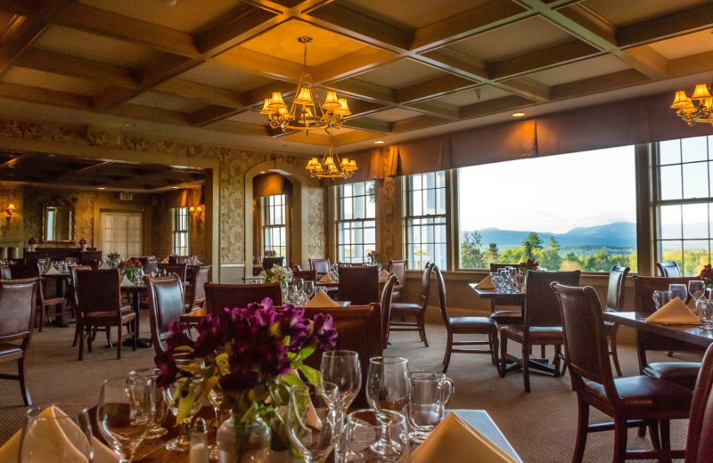Dining at Mountain View Grand Resort & Spa.