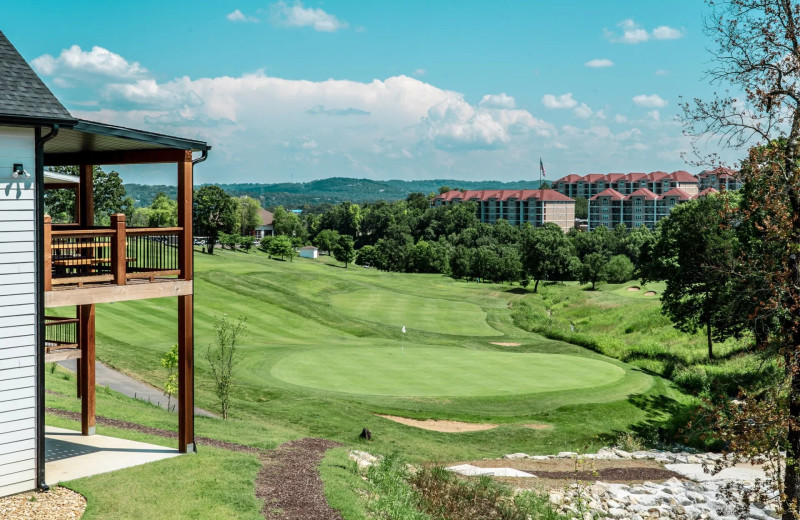 Golf course at Thousand Hills Vacations.