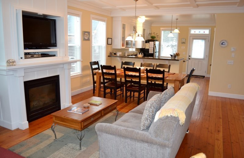 Vacation rental interior at Bella Beach Property Management.