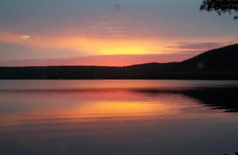 Sunset at Wilderness Resort.