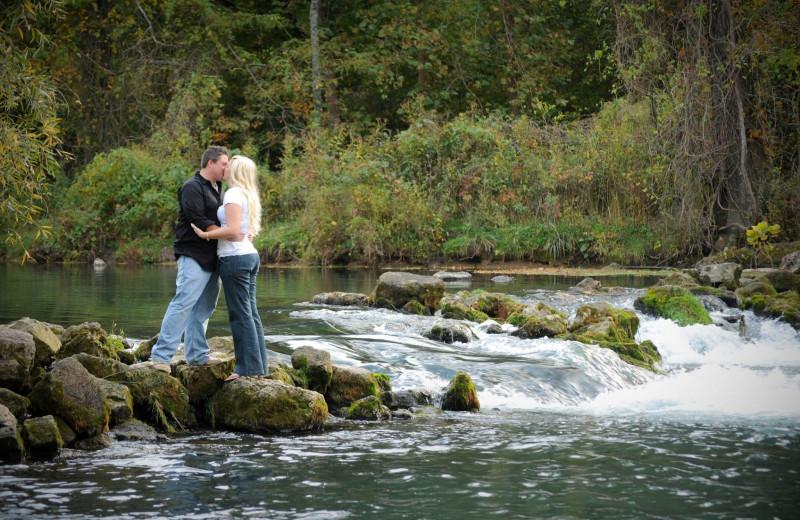 Couple at Riverwood Resort.