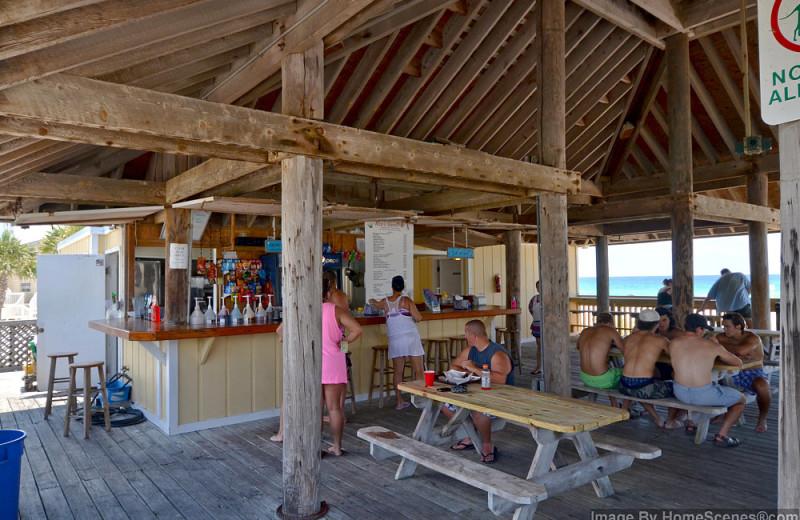 Beach pavilion at Sandpiper Cove.