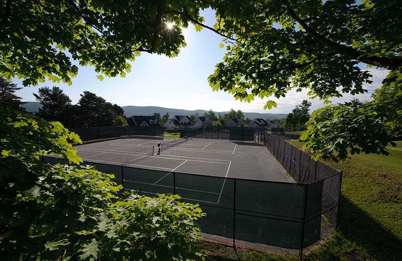 Tennis court at Cranwell Resort.