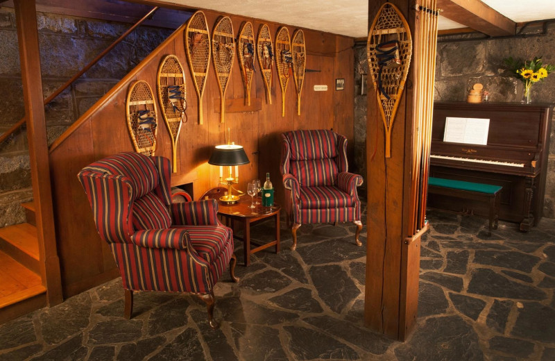 Living room at Adair Country Inn.