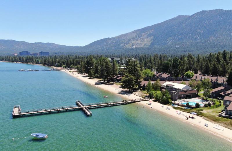 Beach at Lake Tahoe Accommodations.