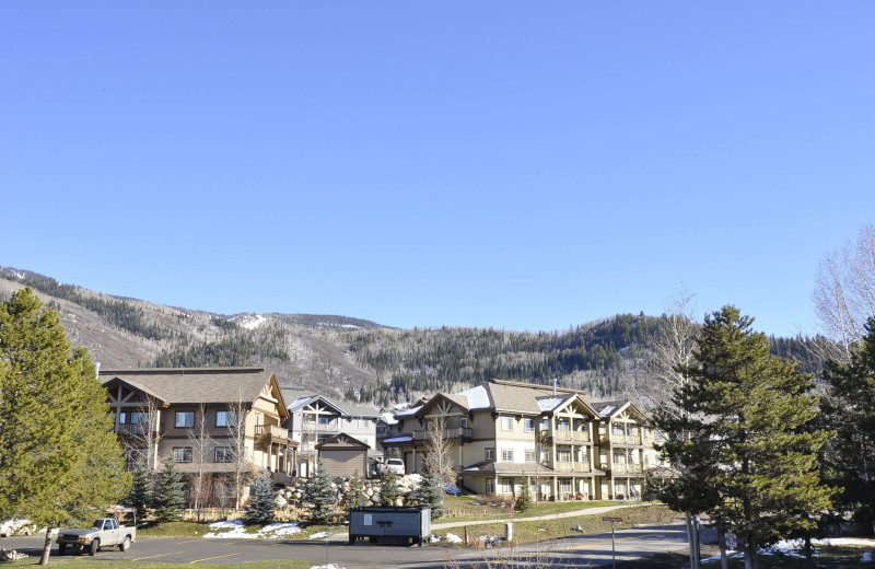 Mountain view at Steamboat Lodging Properties.