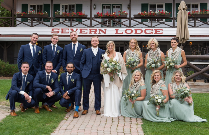Weddings at Severn Lodge.