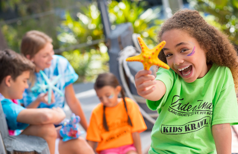 Kids love nonstop fun from pirate shows and poolside movies to crafts and drop-off camps.