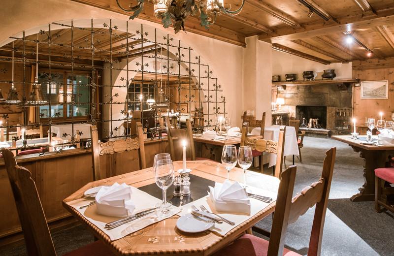 Dining at Hotel Adula.