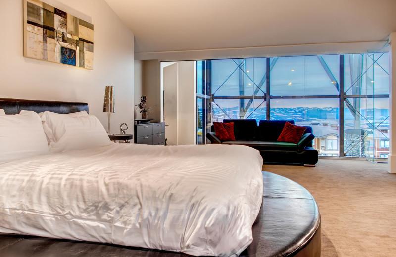 Master Bedroom at RentChalets