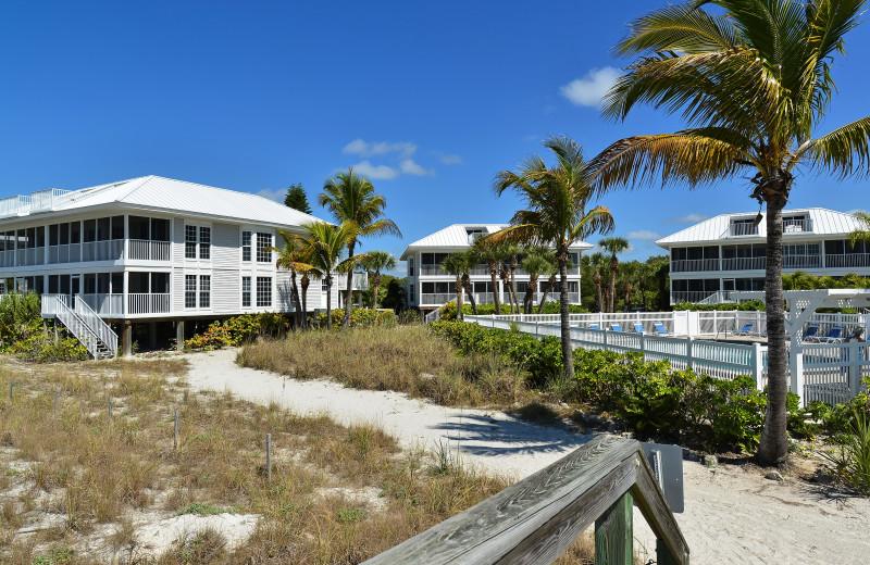 Exterior view of Palm Island Resort.
