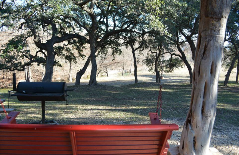 View from Criders Frio River Resort.
