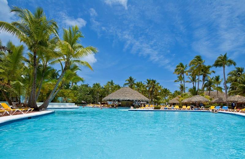 Outdoor pool at Hotel La Catalina.