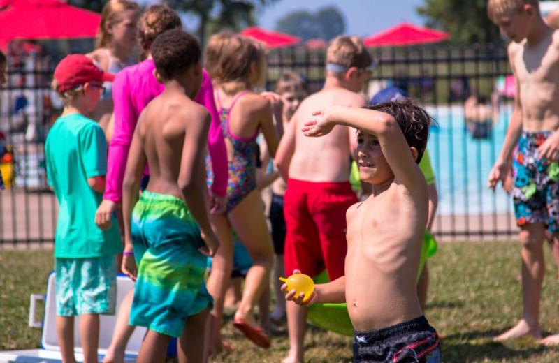 Kids at Great Blue Resorts- Vine Ridge Resort.