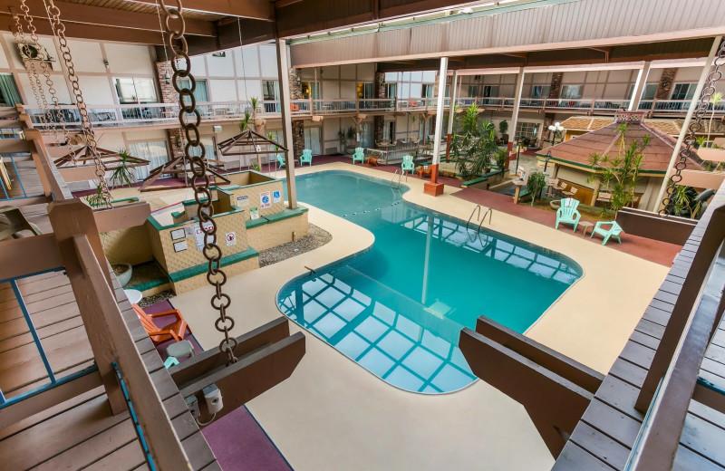 Indoor pool at Eisenhower Hotel