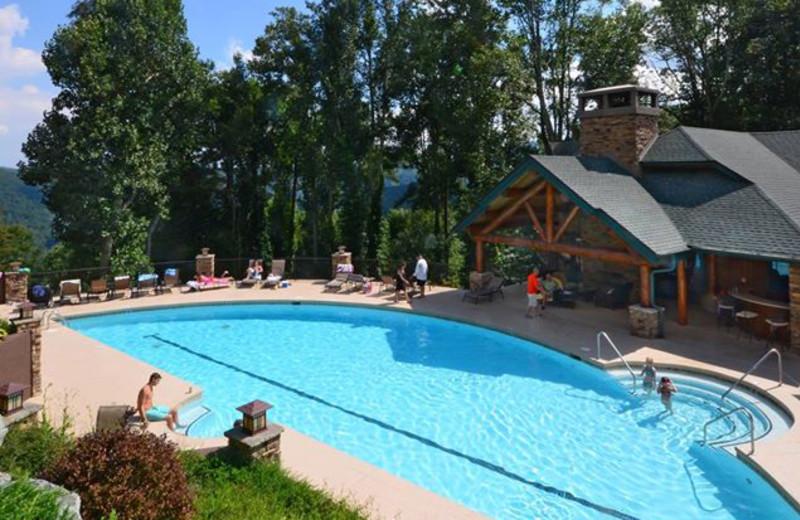 Rental pool at Foscoe Rentals.