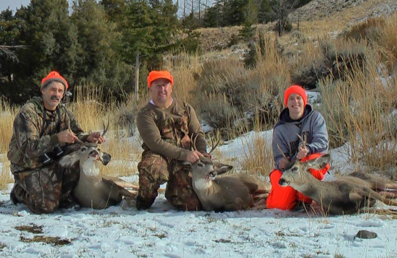 Hunting near Bill Cody Ranch