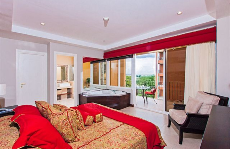 Rental bedroom at Vacation Rentals of Tamarindo.