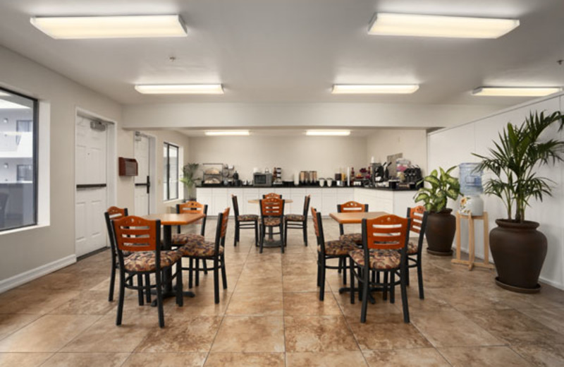 Dining room at Ramada Limited Oceanside.